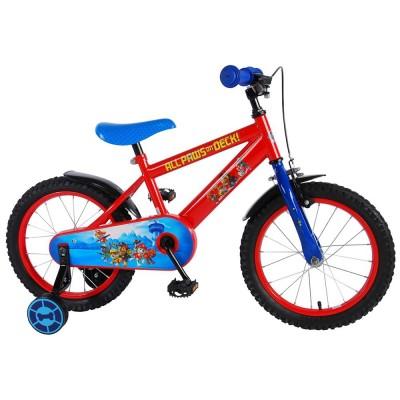 61650 Детски велосипед с помощни колела: Paw Patrol, 16 инча