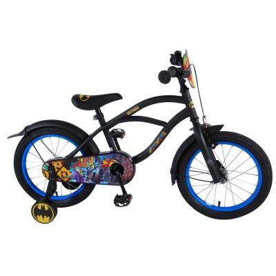81634 Детски велосипед с помощни колела: Batman, 16 инча