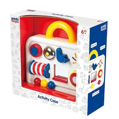 31103 Ambi Toys: Бебешко куфарче с активни занимания