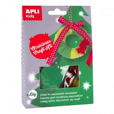 14949 APLI Kids: Направи си сам: Коледен венец за елха