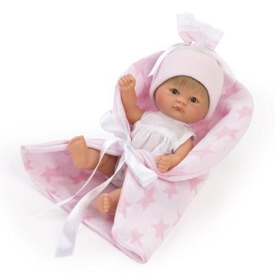 0115050 Кукла Asi: Бебе Чикита с розово одеяло