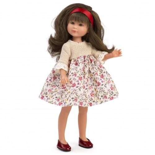 0165080 Кукла Asi: Силия с рокля на цветя