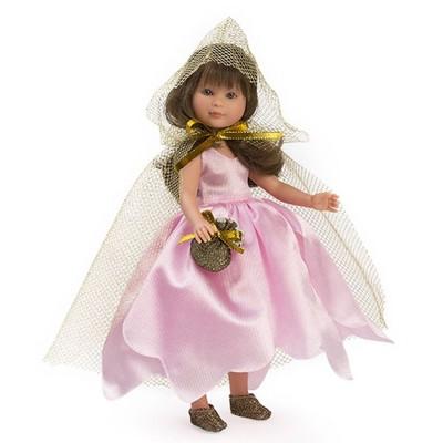 0169950 Кукла Asi: Силия фея с розова рокля и наметало