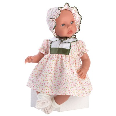0184600 Кукла Asi: Бебе Лея с рокля на цветя