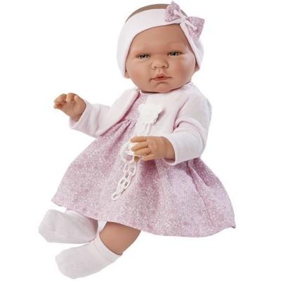 0364290 Кукла Asi: Бебе Мария с розова рокличка