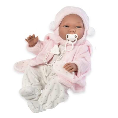 0364530 Кукла Asi: Бебе Мария с ританки и палтенце