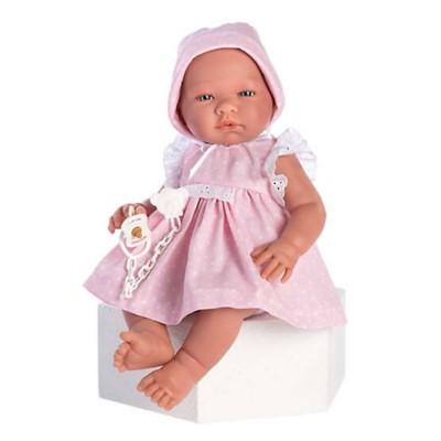 0364570 Кукла Asi: Бебе Мария с рокля и биберон