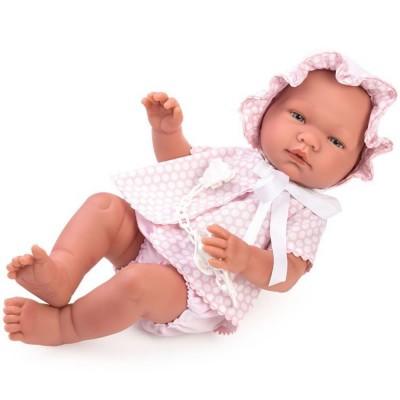 0365340 Кукла Asi: Бебе Мария с розови дрешки и биберон