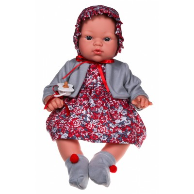 0403550 Кукла Asi: Бебе Коке с цветна рокличка