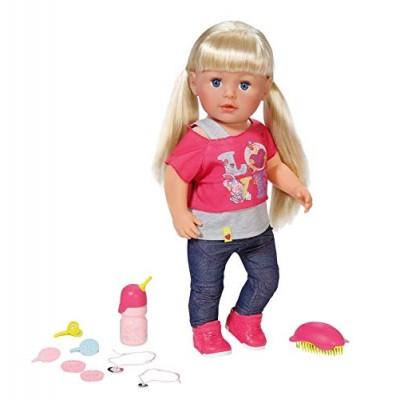820704 Baby Born: Интерактивна кукла с дълга коса и аксесоари