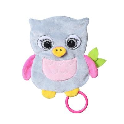 446 BabyOno: Мека бебешка играчка: Сова