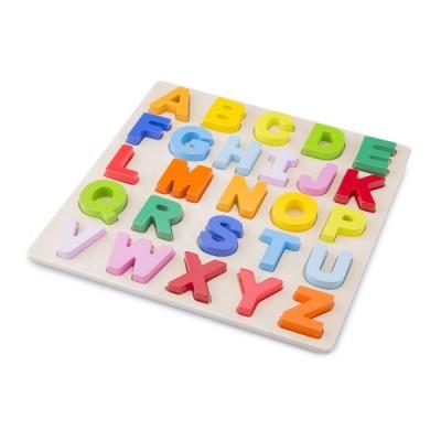 10534 Дървен пъзел с букви: ABC