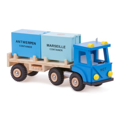 10910 Товарен камион с 2 контейнера