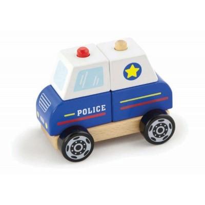 50201 VIGA Дървена полицейска кола