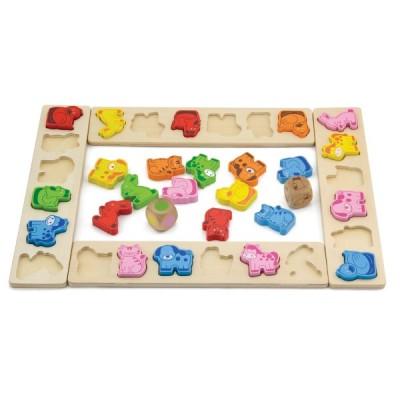 50450 VIGA Дървена игра с животни