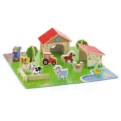 50540 VIGA 3D Ферма с животни