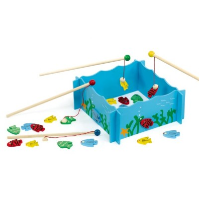56305 VIGA Игра на риболов с въдици и магнитни рибки