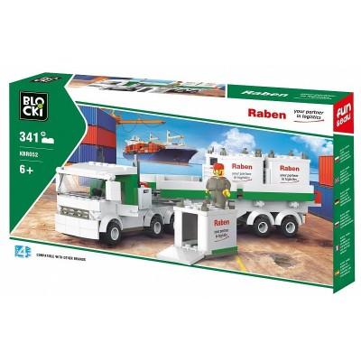680052 Конструктор Blocki: Камион с контейнери