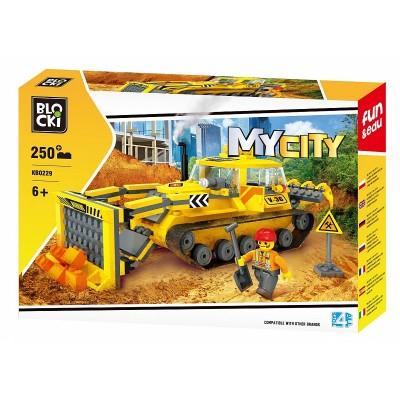 680229 Конструктор Blocki: Булдозер