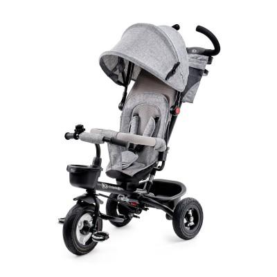 022512 KinderKraft Aveo: Триколка 3 в 1, Сива