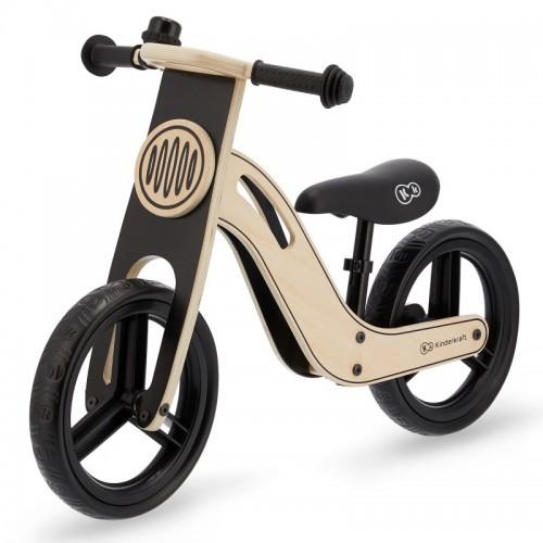 022548 KinderKraft UNIQ Natural: Дървено колело за баланс