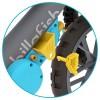 023136 Chillafish BMXie Moto: Колело за баланс, синьо