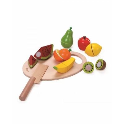 2824CW Дървен комплект с плодове за рязане
