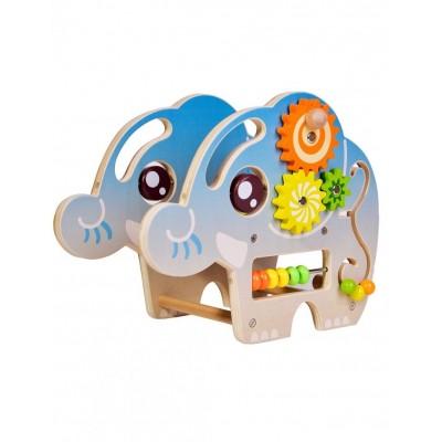 5050CW Дървена играчка с активности: Слонче