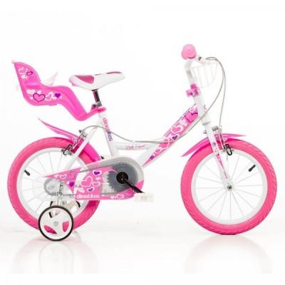 90246 Детско колело Little heart, 14 инча