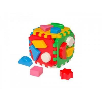 630458 Детски куб за сортиране с геометрични фигури