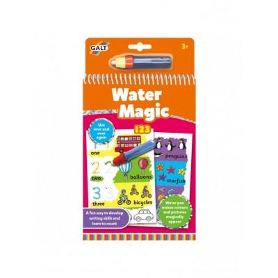 1105449 Galt: Детска книжка: Рисувай с вода цифри