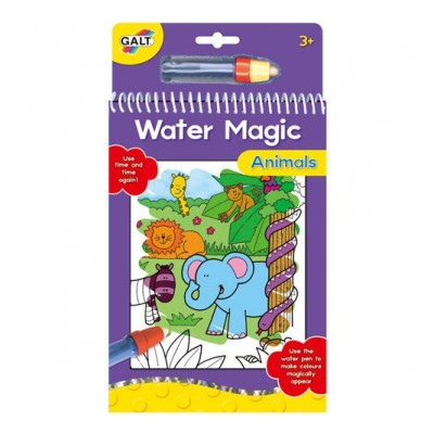 A3079H Galt: Детска книжка: Рисувай с вода Животни