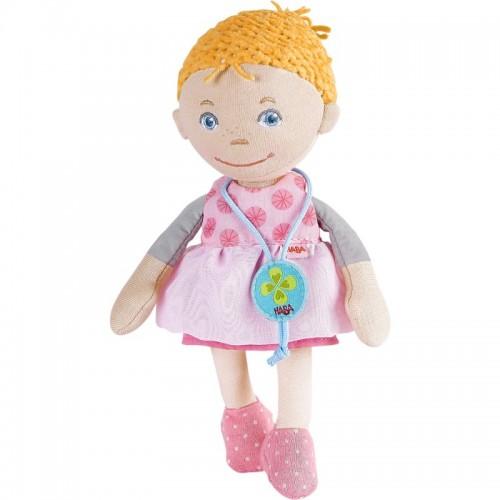304580 Haba: Мека кукла Лив с медальон за късмет, 20 см