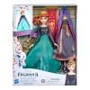 E9419 Hasbro: Кукла Анна с 2 тоалета, Frozen II