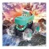 3151C Hola: Камион с функция Pull Back, Крокодил