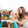 2106 Hola: Бебешко столче с батут и интерактивни занимания