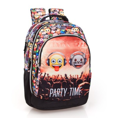 32152 Emoji: Раница за училище: Party Time