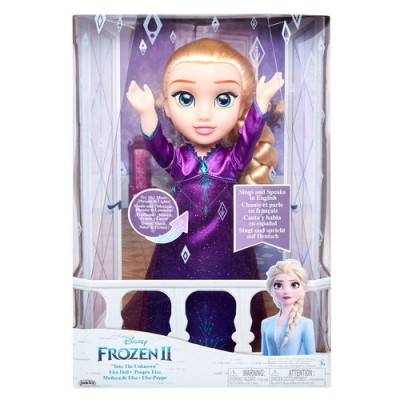 207474 Jakks Pacific: Пееща кукла Елза, Frozen II