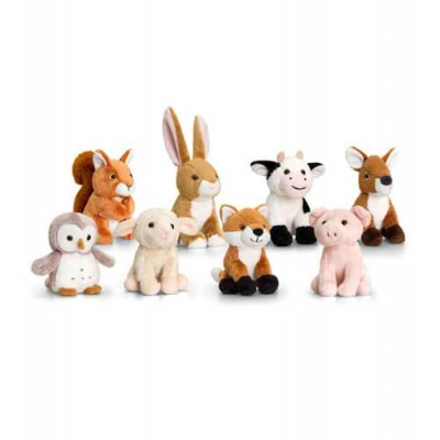 0283SW Keel Toys Плюшени горски животни: асортимент
