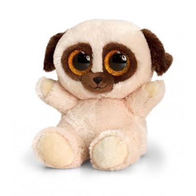 0445SF Keel Toys Плюшено куче: Мопс