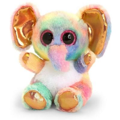 2477SF Keel Toys: Плюшено цветно слонче, 15 см