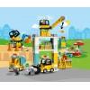 10933 Lego Duplo: Строителна площадка с кран