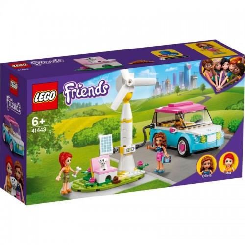 41443 Lego Friends: Електромобилът на Оливия