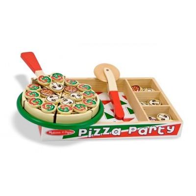 10167 Дървена парти пица
