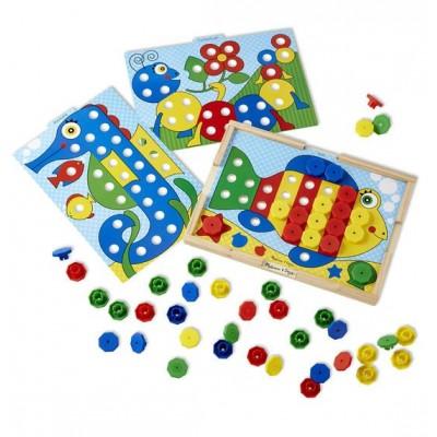 14313 Melissa&Doug: Детска мозайка