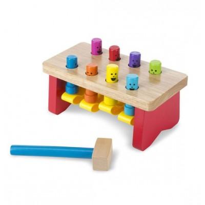 14490 Melissa&Doug: Дървена игра с чукче