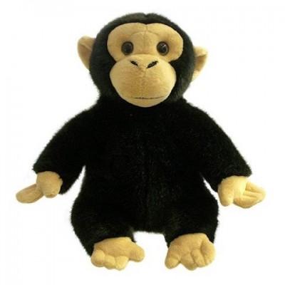 1820PC Плюшена маймуна за игра на куклен театър