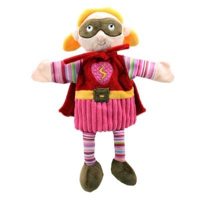 1902PC Кукла за куклен театър: Супер герой момиче