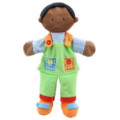 1903PC Кукла за куклен театър: Момче с тъмна кожа