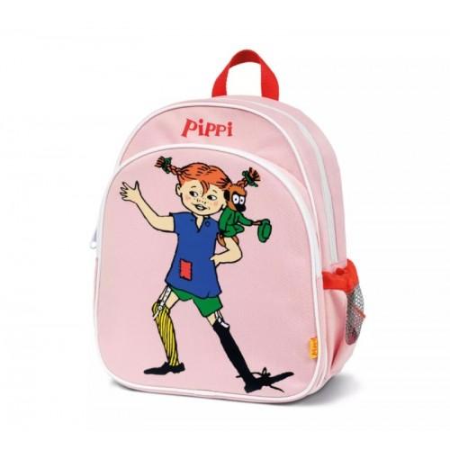 443764 Pippi: Детска раница, Пипи Дългото чорапче, розова